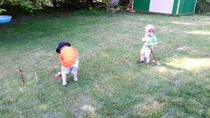 The Boys Learn Croquet - YouTube Backyard Games Book A Cort Sinnes Alan May Deluxe Croquet Set Baden The Rules Of By Sunni Overend Croquet Backyard Sei80com 2017 Crokay 31 Pinterest Pool Noodle Soccer Ball Kids Down Home Inspiration Monster Youtube Garden Summer Parties Let Good Times Roll G209 Series Toysrus 10 Diy For The Whole Family Game Night How To Play Wood Mallets 18 Best And Rose Party Images On