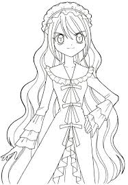 Free Printable Anime Coloring Pages Mermaid Melody