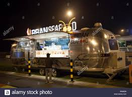 DUBAI, UAE - DEC 4, 2016: Airstream Caravan Food Truck Urban Seafood ... Shiny Stainless Steel China Supply Produce Airstream Food Truck For Manufacturers And Suppliers On Snow Cone Shaved Ice Food Truck For Sale Fully Loaded Nsf Approved Kitchen 2011 Customized Outdoor Mobile Avilable 2018 Qatar Living 2014 Custom Show Trucks For Airstreams Nest Caravans Trailers Are Small Towable Insidehook Jack Daniels Operation Ride Home Air Stream Trailer Visit Twin Madein Tampa Area Bay The Catering Co Ny Roaming Hunger