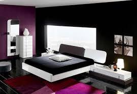 innenarchitektur design schlafzimmer schwarz weiß