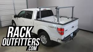 100 Pro Rack Truck Rack Ford F150 SuperCrew With Thule 500XT Xsporter Aluminum
