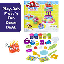 Play Doh Kitchen Creations Frost n Fun Cakes DEAL