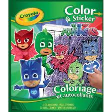 Crayola Color N Sticker Buch 10