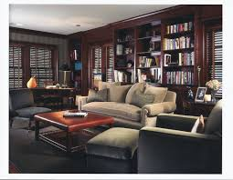 Classic Home Library Design Ideas With L Shaped Wooden Wall Open ... Office Workspace Interior Fniture Classic Home Library 23 Design Plans 40 Ideas For A Nuance Contemporary Which Is Decorated Using Study Room Designs Elegant Wooden Style Custom 30 Imposing Freshecom Awesome Dark Brown Wood Cool Luxury Decor Bedrooms Marvellous Men Designing Remarkable Fascating 50 Modern Libraries Decorating Inspiration Of Luxurious With