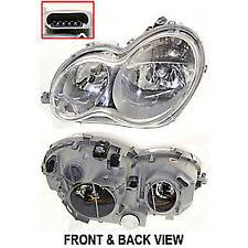 headlights for mercedes c230 ebay