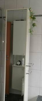 badezimmer drehschrank mit spiegel weiß