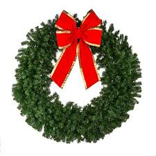 Unlit Christmas Tree by Christmas Wreaths Deluxe Oregon Fir Mixed Pine