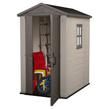 Arrow Galvanized Steel Storage Shed by Keter Factor 4 X 6 Ft Storage Shed Hayneedle