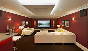 Absolute Zero Curtains Red by Home Cinema Curtains Light Control In Theater Room Decor The