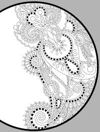Free Printable Coloring Books Pdf Pages For Adults Mandala Flowers