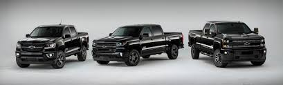100 Chevy Special Edition Trucks Chevrolet Back In Black For 2016
