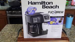 Hamilton Beach FlexBrew Coffee Maker Review Kcups Pot