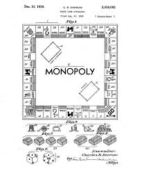 Charles S Darrow Included This Design For Monopoly In His 1935 Patent