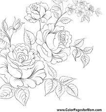 Flor Para Colorear Pagina 61