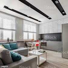 wohnzimmer offen zur küche stockfoto und mehr bilder architektur