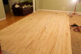 How To Install Plywood Floor Creative Ply Wood Flooring For And Finish