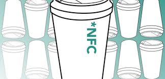 ICON Connective NFC Reusable Coffee Cup Digital
