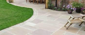 Patio Slabs by Indian Sandstone Patio Slabs And Flagstones Nigel Belcher Turf