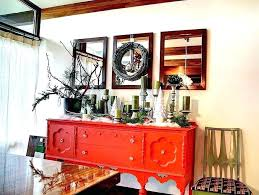 Dining Buffet Table Decor Room Decorating