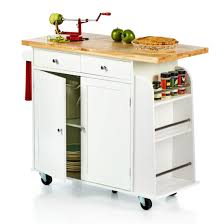 Rolling Kitchen Island With Spice Rack Christmas Tree Shops Andthat