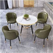 de kaffee empfang tisch und stuhl set 4 modernes