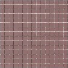 lyric unglazed porcelain rectified edge mosaic tile in wisteria
