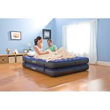 Walmart Bed In A Box by Intex Queen 2 In 1 Guest Airbed Mattress With Hand Pump Walmart Com