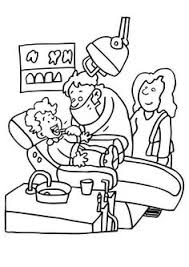 Kids Dental Coloring Pages Printable Project Awesome For Preschool