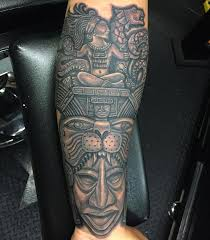 Symbolic Mayan Tattoo Ideas Fusing Ancient Art With Modern Tattoos