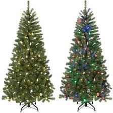 T1 65ft Pre Lit Russ Color Change Christmas Tree