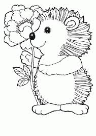 Download Coloring Pages Animals Spring Page For Kids