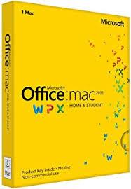 Amazon fice Mac Home & Student 2011 1MAC 1User Disc Version