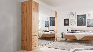 interliving schlafzimmer serie 1021 kleiderschrank 57z3 eiche artisan soft grey breite ca 301 cm