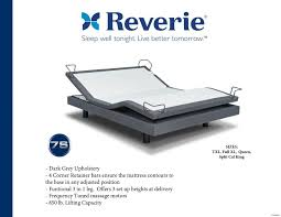 reverie 7s adjustable bed decor csublogs com