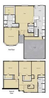 4 br 2 5 ba 2 story floor plan house design for sale houston tx