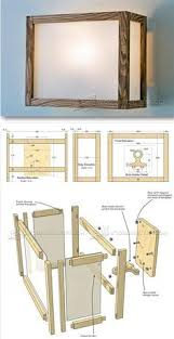 shoji screen lamp plans woodworking plans and projects