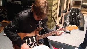 Stevie Ray Vaughan Number One Folreden Stratocaster Amazing Sound