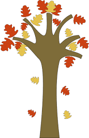 Leaves Falling from Tree Clip Art Leaves Falling from Tree Image