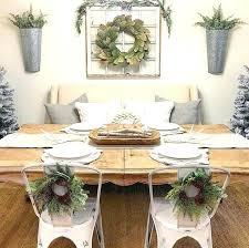 Dining Room Ideas Farmhouse Wall Decor Best On