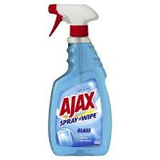 ajax spray n wipe glass cleaner trigger 500ml staples now winc