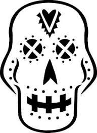 Sugar Skull Pumpkin Carving Patterns by Pumpkin Carving Templates Crafty Chica