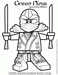 Full Size Of Coloring Pagesfabulous Lego Ninjago Pages Print Green Ninja Lloyd In