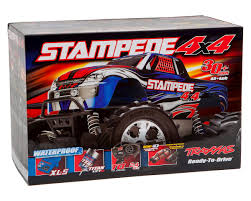 Stampede 4X4 LCG 1/10 RTR Monster Truck (Blue) By Traxxas [TRA67054 ... Review Proline Promt Monster Truck Big Squid Rc Car And Traxxas Stampede Xl5 2wd Lee Martin Racing Lmrrccom Amazoncom 360641 110 Skully Rtr Tq 24 Ghz Vehicle Front Bastion Bumper By Tbone Pink Brushed W Model Readytorun With Id 4x4 Vxl Brushless Rc Truck In Notting Hill Wbattery Charger Ripit Trucks Fancing 4x4 24ghz 670541 Extreme Hobbies Black Tra360541blk Bodied We Just Gave Away Action