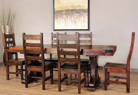 Rustic Carlisle Dining Room Set