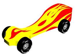 Pinewood Derby Car Design Spitfire