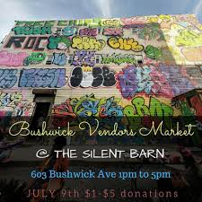 Bushwick Vendor's Market -- Silent Barn Scolhouse Screaming Females At The Silent Barn March 6 Walter Cristy Road Shira Mallrat Record Release April Mei Best Nyc Radio Stations Running Out Of Galleries And Diy Spaces Puerto Rico Fundraiser Ava Mendoza Brandon Lopez Spic Brooklyn Utopia One Structure To Sustain You Selena Lives On And More Art Openings Bushwick Project For The Arts Pinact Living Hour Tickets Ny Skin In City A New Game Medium