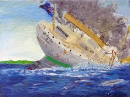 Brittanic Sinking by Sinking Of The Britannic 2 By Rhill555 On Deviantart