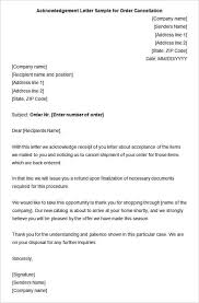 33 Acknowledgement Letter Templates – Free Samples Examples
