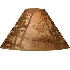 Scenic Wolf Lamp Shade