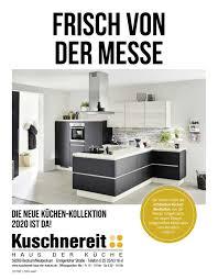 die neue küchen kollektion 2020 kuschnereit by perspektive